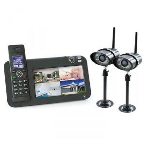 Scs sentinel CL-3645 - Kit de surveillance CCTV avec 2 caméras + moniteur