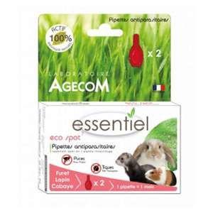 Agecom Eco Spot N°7 - Pipette antiparasitaire - Lapins et Furets