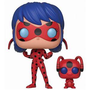 Funko Pop! La Ladybug Avec Tikki Et Buddy - Miraculous, Les Aventures De Ladybug Et Chat Noir