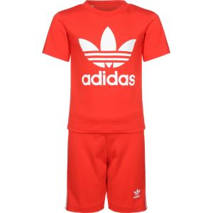 Adidas Ensemble Trefoil Originals Rouge - Taille 1-2 Ans