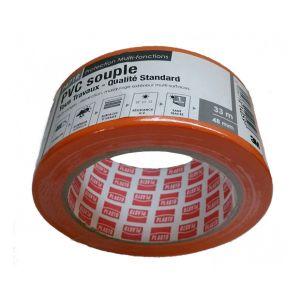 3M Ruban adhésif PVC orange largeur 48mm longueur 3
