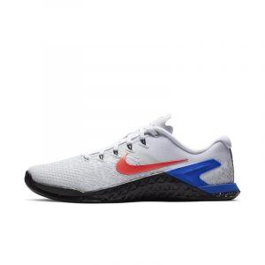 Nike Chaussure de cross-training et de renforcement musculaire Metcon 4 XD pour Homme - Blanc - Couleur Blanc - Taille 44