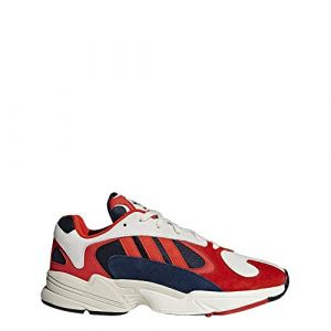 Adidas Yung-1 chaussures beige rouge T. 42 2/3