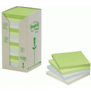Post-It Tour de 16 notes repositionnables 100 feuilles (76x76 mm)