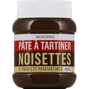 Monoprix Pâte à tartiner aux noisettes - Le pot de 400g