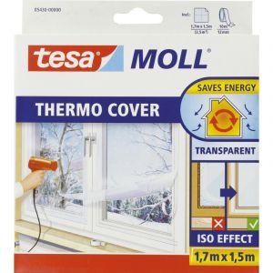 Tesa Film de survitrage Thermo Cover Longueur 1,7 m Largeur 1,5 m