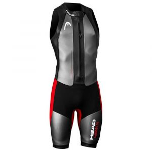 Head Swimrun MyBoost - Homme - gris/rouge ML Combinaisons néoprènes