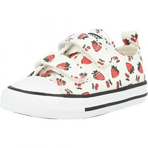Converse Chaussures enfant CHUCK TAYLOR ALL STAR 2V SPRING FRUITS - Couleur 20,21,22,23,24,25,26 - Taille Blanc