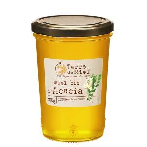 Terre de miel Miel Acacia bio 500g