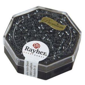 Rayher Perles Miyuki Delica 10/0 métallic gun - DMB 21
