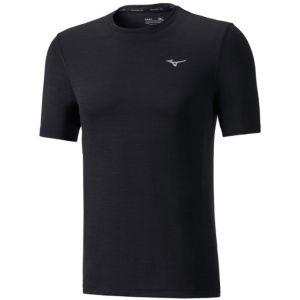 Image de Mizuno Impulse Core - T-shirt course à pied Homme - noir L T-Shirts Running
