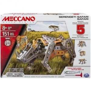 Spin Master Meccano 6026716 - Safari 5 modèles