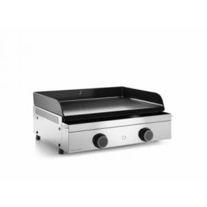 Forgeadour Origin 60 Inox - Plancha gaz 2 brûleurs