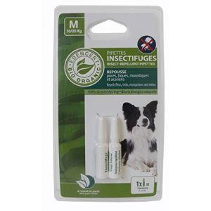 Vitalveto Pipettes insectifuges Bio contrôlé Edencert - Pour chien moyen