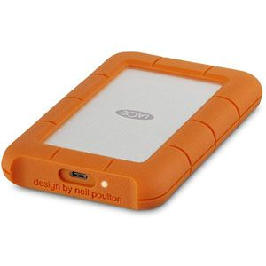 Lacie STFS2000800 - Rugged USB-C 2 To Thunderbolt USB 3.0