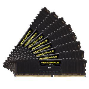 Corsair CMK64GX4M8A2133C13 - Barrette mémoire Vengeance LPX Series Low Profile 64 Go (8x 8 Go) DDR4 2133 MHz CL13