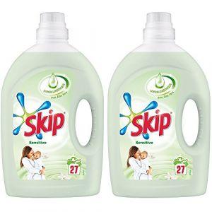 Skip Sensitive Lessive liquide Peaux sensibles & bébés 1,89 L - 27 lavages