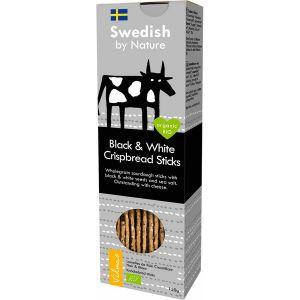 Vilmas Crackers Noir et Blanc Bio 120g