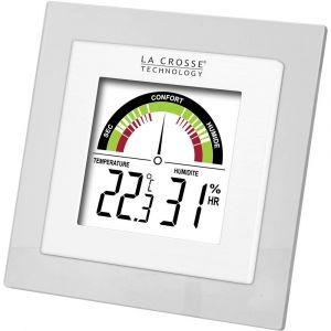 La Crosse Technology Thermo-hygromètre WT137-TRA-WHI