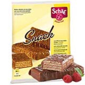 Dr Schär Snack - Gaufrettes sans gluten recouvertes de chocolat (105g)
