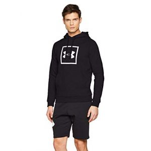 Under Armour Sweat-shirt RIVAL FLEECE LOGO HOODIE Noir - Taille XXL,S,M,L,XL