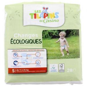 Les Tilapins Couches écologiques T5x28 couches