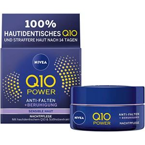 Nivea Nachtcreme Q10 Sensitiv - 50 ml