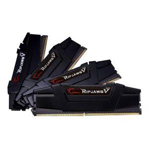 G.Skill F4-2800C14Q-64GVK - Barrette mémoire Ripjaws DDR4 64 Go (4x16Go) CL14