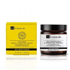 Dr Botanicals Crème Hydratante de Jour 100% Hydratation & Éclats Naturels - 50 ml