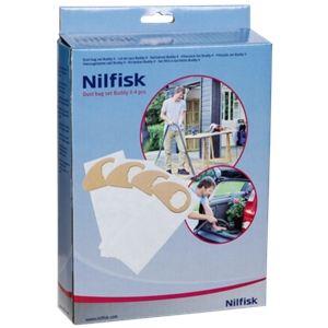 Nilfisk 4 sacs pour les aspirateurs Buddy II