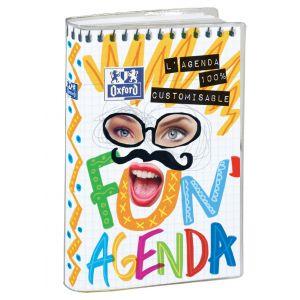 Oxford Agenda scolaire journalier Fun'agenda 12x18 cm