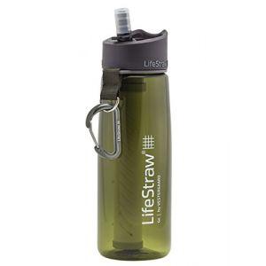 Lifestraw Go Bouteille d'eau avec Filtre 1,000 Litre Intégré, Vert