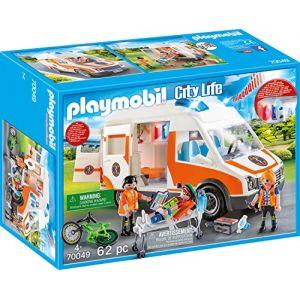 Playmobil 70049 - Ambulance Et Secouristes