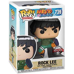 Funko Figurine Pop - Rock Lee - Naruto (739) - Pop Animation - Exclusive - Fu47578