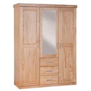 Armoire Celso avec 3 portesen pin