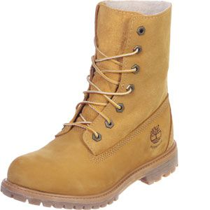 Timberland Women's Authentics Waterproof Fold-Down Boot (8329R) wheat