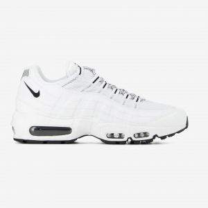Nike Air Max 95 Premium Blanche Baskets/Running Homme