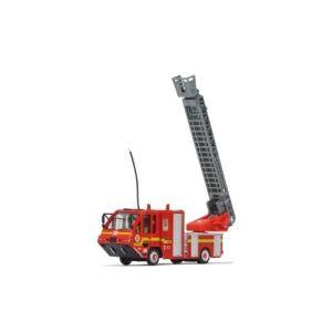 Jamara Camion de pompier radiocommandé avec échelle