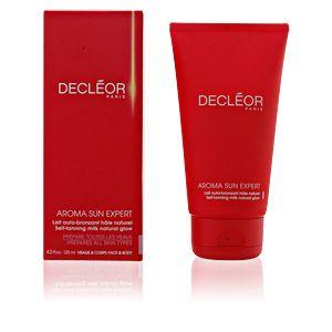 Decléor Aroma Sun Expert - Lait auto-bronzant hâle naturel visage et corps