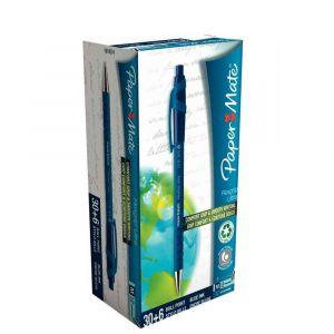 Paper Mate Pack 30+6 stylos billes Flexgrip Ultra rétractable