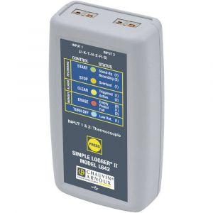 Chauvin Arnoux Enregistreur de données de température P01157050 Unité de mesure température -200 à 1375 °C Etalo