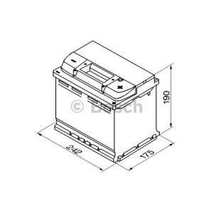 Bosch 0092S50050 - Batterie de démarrage