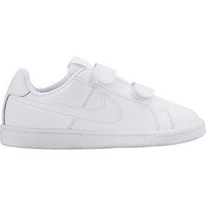 Nike Court Royale (PSV), Baskets Basses Garçon, Blanc (White/White 102), 28.5 EU