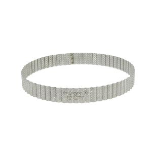 De Buyer Cercle A Tarte Perfore Cannelé 24 cm HT 3 cm