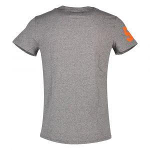 Superdry T-shirts Premium Goods Duo Lite - Podium Mid Grey Grit - XXXL