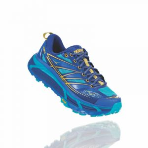 Hoka one one Mafate Speed 2 Chaussures de trail Femme, palace blue/bluebird US 9 | EU 41 1/3 Chaussures trail