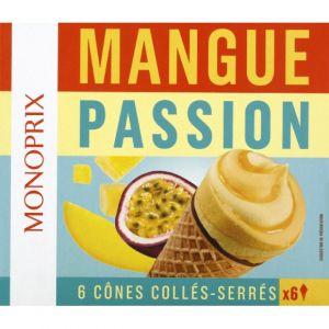 Monoprix Cônes mangue passion