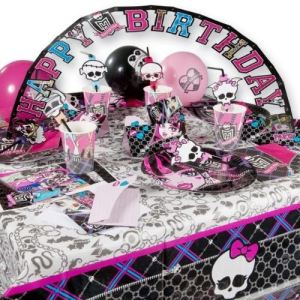 "Riethmüller 6 ballons ""Happy Birthday"" Monster High"