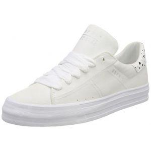 Esprit Simona, Sneakers Basses Femme, Blanc (White), 36 EU