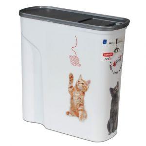 Curver Conteneur à croquettes pour chat - jusqu'à 2,5 kg de croquettes